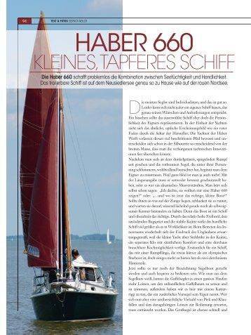 HABER 660 - HABER YACHTS