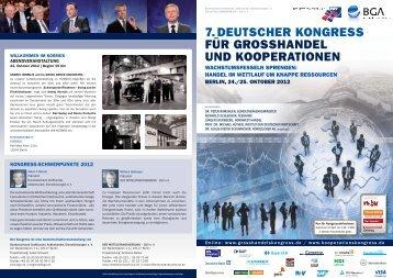 7.deutscher kongress für grosshandel und kooperationen