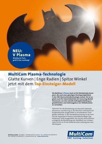 MultiCam V Plasma - TM Systeme+Maschinen