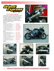 exhausts - Orient Express Racing