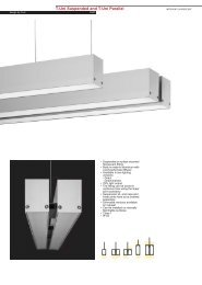 product update - interior fluorescent - tuni.fh11 - Spazio Lighting