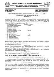 liceo pedagogico e delle scienze sociali statale - Liceo Statale C ...