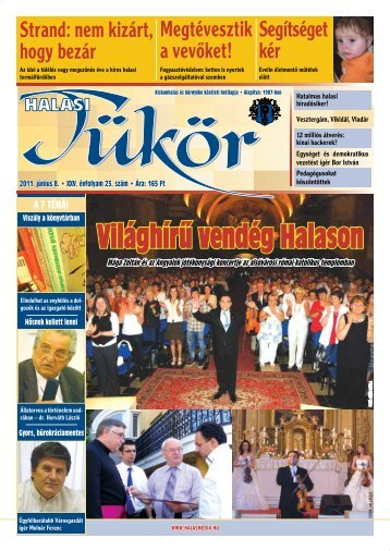2011. június 8. - Halas Tv