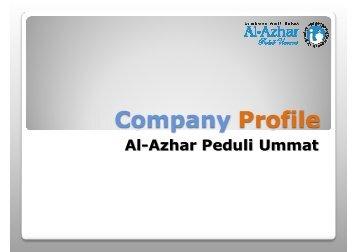Company Profile presentation by Taufiq.pptx - Al-Azhar Peduli Ummat