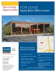 FOR LEASE - Cassidy Turley