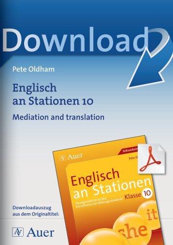 Englisch an Stationen10