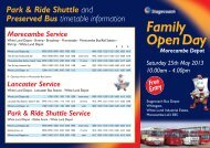 Family Open Day - Stagecoach