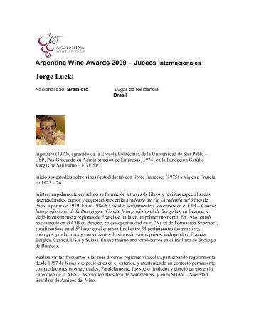 Jorge Lucki - Wines Of Argentina