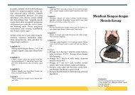 Membuat Kompos dengan Metode Karung - Kalyanamitra