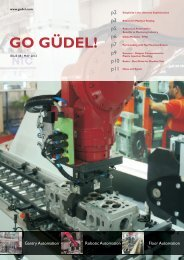 Robot Cell Automation - Güdel