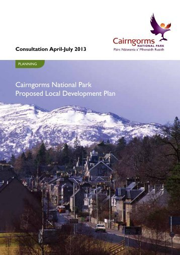 Cairngorms National Park Proposed Local Development Plan