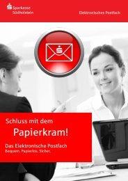 Elektronisches Postfach - Sparkasse Südholstein
