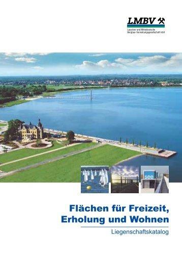 """Katalog """"Flächen für Freizeit Erholung und Wohnen"""""""