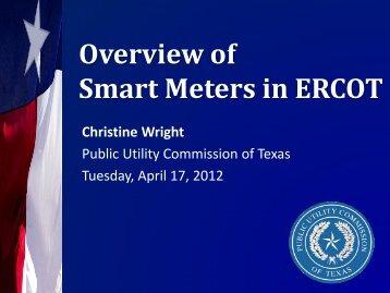 Smart Metering Implementation in ERCOT - Public Utility ...