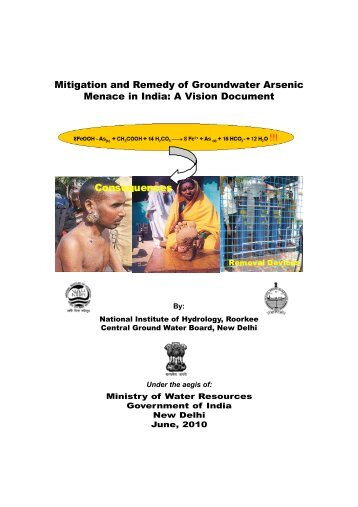 Mitigation and Remedy of Groundwater Arsenic Menace in India