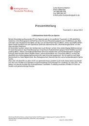 Folie 1 - Kreissparkasse Traunstein-Trostberg