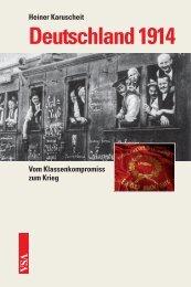 Deutschland 1914 - VSA Verlag