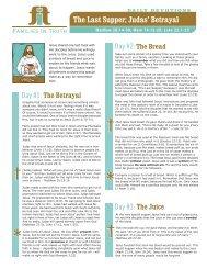 The Last Supper; Judas' Betrayal