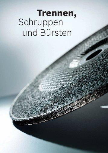 Trennen, Schruppen und Bürsten - Bosch