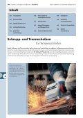 Trennen, Schruppen und Bürsten - Bosch - Seite 2
