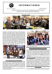 Informationen - Für Schüler - Gymnasium Weilheim
