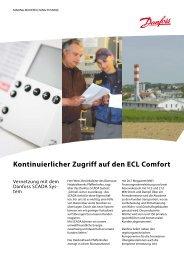 Kontinuierlicher Zugriff auf den ECL Comfort - Fernwärme ...