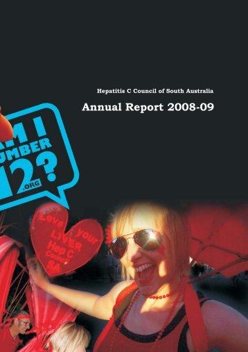 Annual Report 08-09 - Hepatitis SA