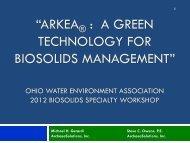 Arkea - Ohio Water Environment Association