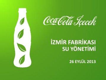 CCİ İzmir Fabrikasında Su Yönetimi