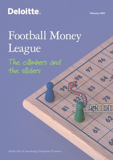 Football Money League 2005