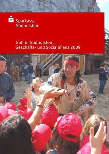 Geschäfts- und Sozialbilanz 2009 - Sparkasse Südholstein