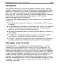 Inspection judgements - Westminster Academy - Page 3