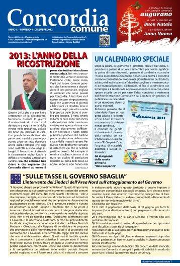 2013: l'anno della ricostruzione - Comune di Concordia Sulla Secchia
