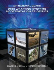 2013 Weapons Systems Modernization Priorities - House National ...