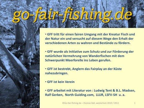 erste Maßnahmen an der Schulau - Wanderfische