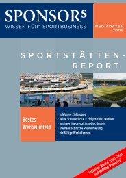 Sportstätten-Report 2009 in Deutsch und Englisch + ... - SPONSORs