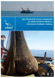 Opis ribolovnih resursa i preporuke za održivi ... - UNDP Croatia