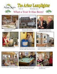 What a Year It Has Been! - Arbor Acres