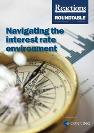 Navigating the interest rate environment - Reactions