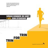 TRIN TRIN FOR - Byggeriets Evaluerings Center