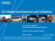 A/C Model Development and Validation - Department of Energy