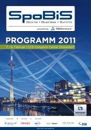 PROGRAMM 2011 - SPONSORs