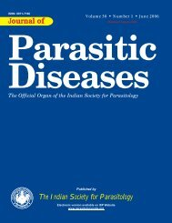 PDF File - The Indian Society for Parasitology