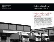 Los Angeles Q3 2011 Industrial Outlook(1) - Jones Lang LaSalle