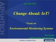 Environmental monitoring systems - Tecnoimprese