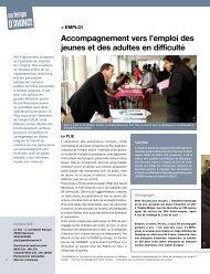 Accompagnement vers l'emploi des jeunes et des ... - Besançon