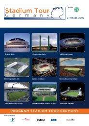 Stadium Tour - SPONSORs