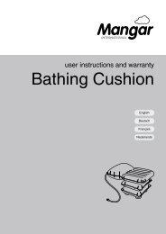 Bathing Cushion - Mangar International