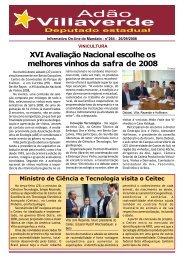 XVI Avaliação Nacional escolhe os melhores vinhos da safra de 2008