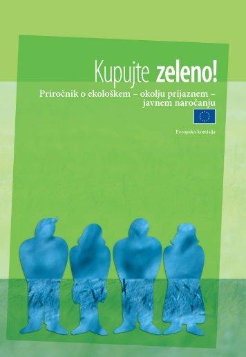 Priročnik o ekološkem – okolju prijaznem – javnem ... - Europa